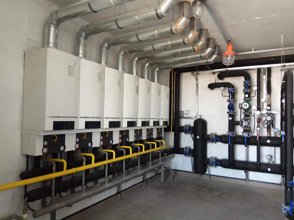 Industrial Heating System Installation and Design